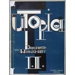 Utopia. Dokumente der Wirklichkeit. Herausgeber: Bruno Adler. Weimar, Utopia 1921. Mit einer