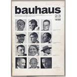 Bauhaus. Zeitschrift für Gestaltung. Herausgeber: Hannes Meyer, Schriftleitung: Ernst Kállai. [Heft]