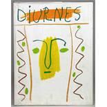 Pablo Picasso [et] André Villers. Diurnes. Découpages et photographies. Texte de Jacques Prévert.