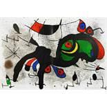 Joan Miró. Peintures sur Cartons. - Peintures sur Papier. - Derrière le miroir 151/152 [und] 193/