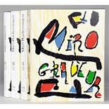 Joan Miró - Jacques Dupin. Miró Radierungen. - Miró Engraver. I [-] IV. Genf und Paris, Weber Lelong