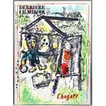 Marc Chagall. Zwei Hefte der Reihe »Derriere le miroir«. Paris, Maeght 1964 und 1969. Mit zusammen