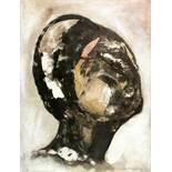 Giovanni de Angelis. Testa. Aquarell. 1971. 61,0 : 46,5 cm. Signiert und datiert. Auf Bütten »C M