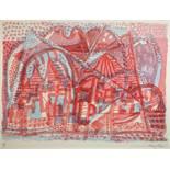 Eduard Bargheer. Ischia. Zehn Farblithographien. 1965. 43 : 61 cm. Signiert und nummeriert.
