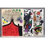 Fernand Mourlot. Joan Miró. Lithograph. Barcelona, New York und Genf 1972-1977. Mit 27 teils