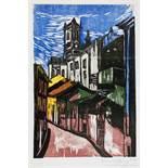 Emanoel Araujo. Bahia. Sieben Farbholzschnitte. 1964. 53,5 : 37,0 cm. Signiert und datiert. Exemplar