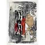 [Georges] Braque. Espaces. 13 Dessins, Lavis, Aquarelles. Préface André Verdet. Paris, Au Vent d'