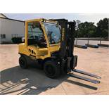"""FORKLIFT, HYSTER 8,000 LB. CAP. MDL. H80FT, new 2015, diesel, 123"""" max. lift ht., 83"""" 2-stage"""