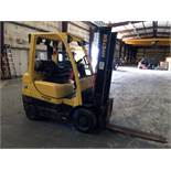 """FORKLIFT, HYSTER 6,000 LB CAP. MDL S60FT, new 2016, LPG, 192"""" max. lift ht., 89"""" 3-stage mast,"""