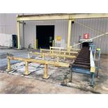 "POWERED PIPE HANDLING SYSTEM, 30,000 lb. cap., approx. 60'L. in (2) sections, 24"" w/roller"
