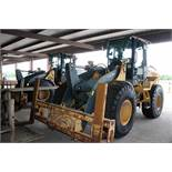 "HIGH-LIFT WHEEL LOADER, JOHN DEERE 544K, new 2005, diesel, Wickler 6' x 8"" forks, S/N DW544KZ625398"