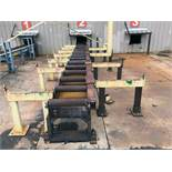 "POWERED PIPE FEEDING SYSTEM, 30', 24"" rollers"