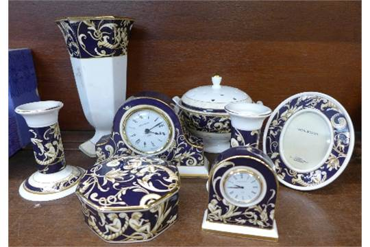 Eight Items Of Wedgwood Cornucopia China Comprising A Pair Of