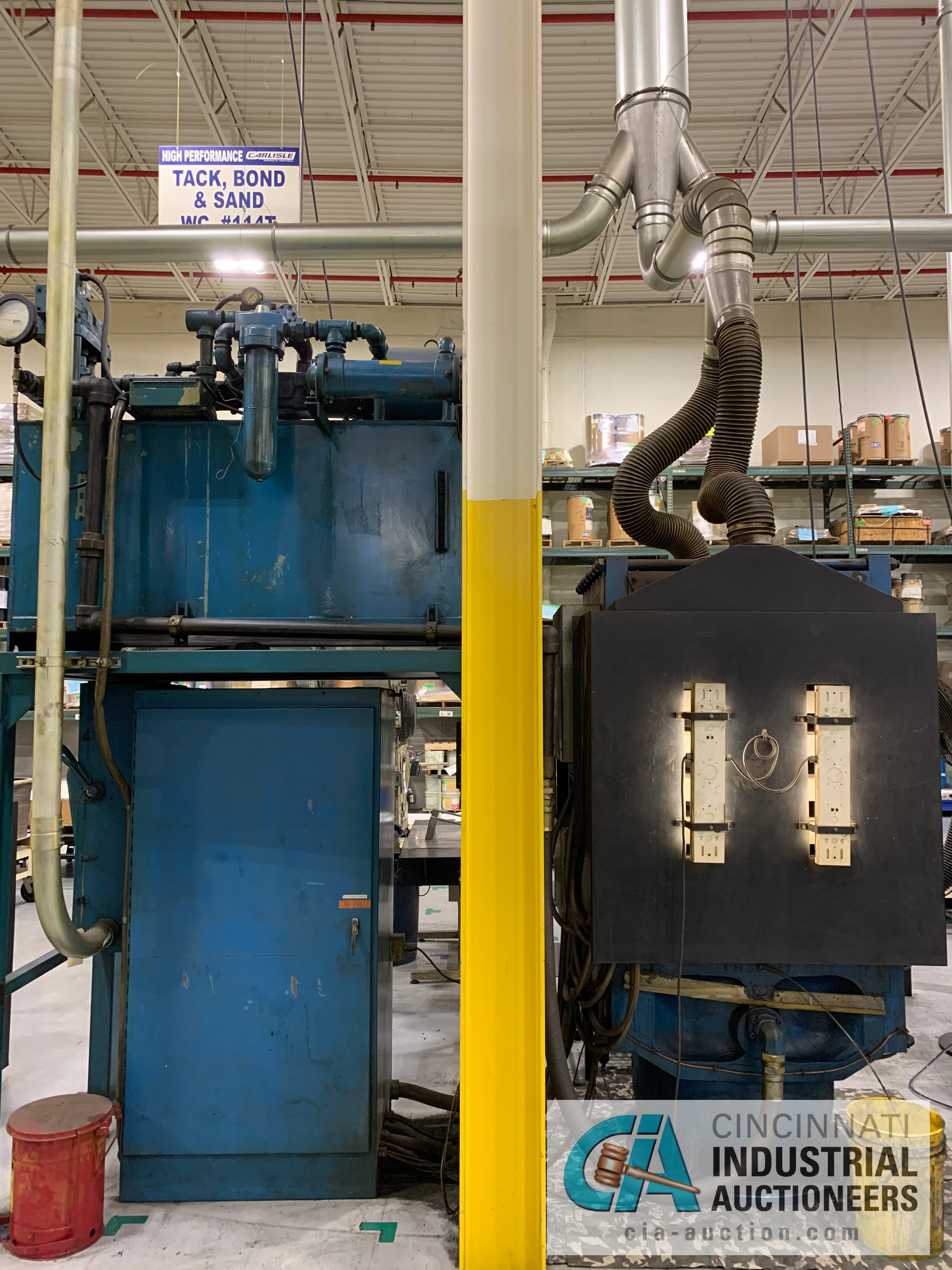"""32"""" 5-PLATTEN HEATED PRESS **RIGGING FEE DUE TO SHOEMAKER $2,250.00** - Image 6 of 7"""