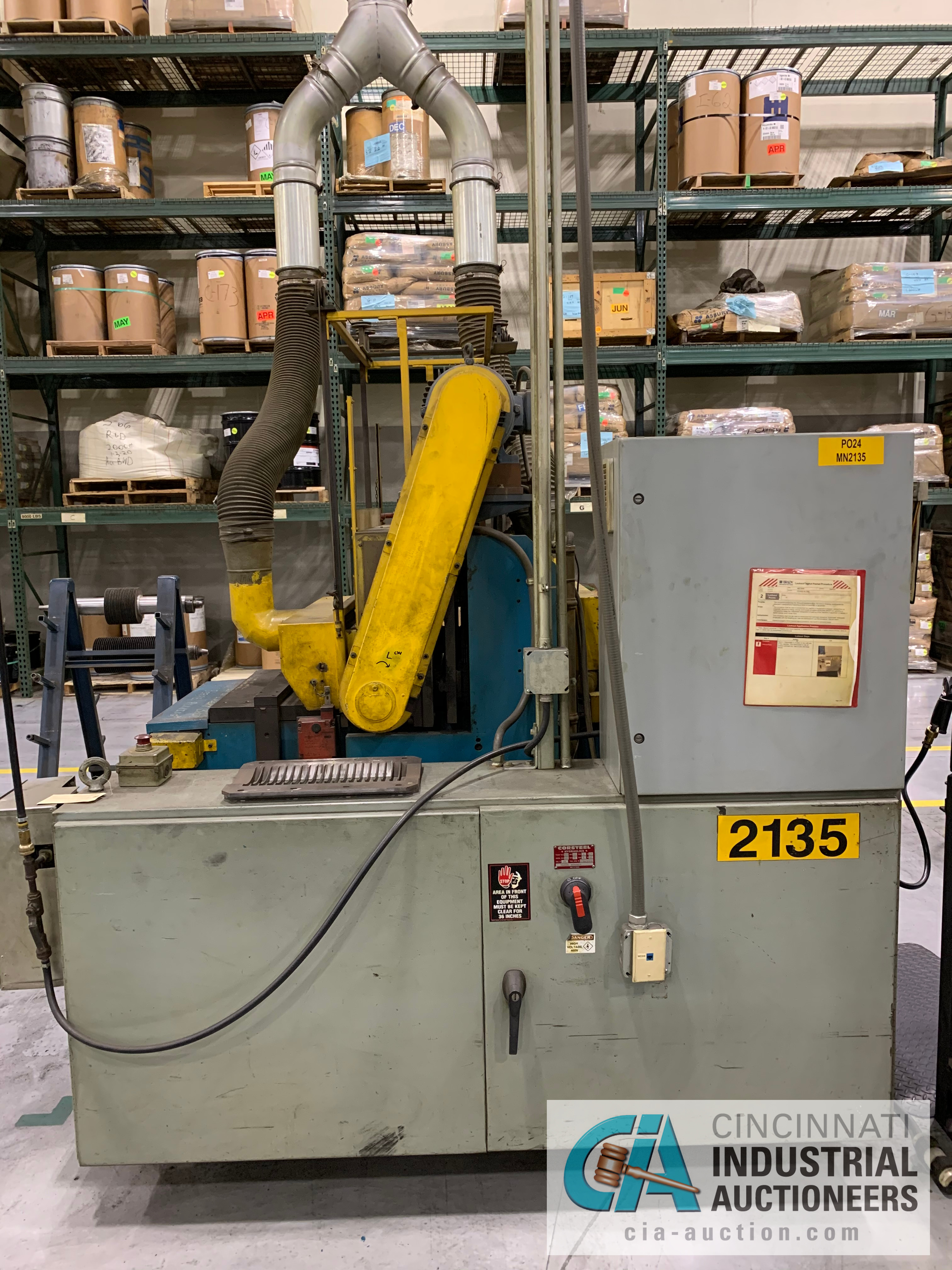 CORSTEEL MANUAL GROOVER; 14 HP **RIGGING FEE DUE TO SHOEMAKER $500.00** - Image 6 of 7