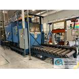 "1,000 DEGREE BECKER TEMPER FURNACE; S/N J2829 (DATE 3X30X03) 48"" WIDE X 42"" HIGH OPENING,"