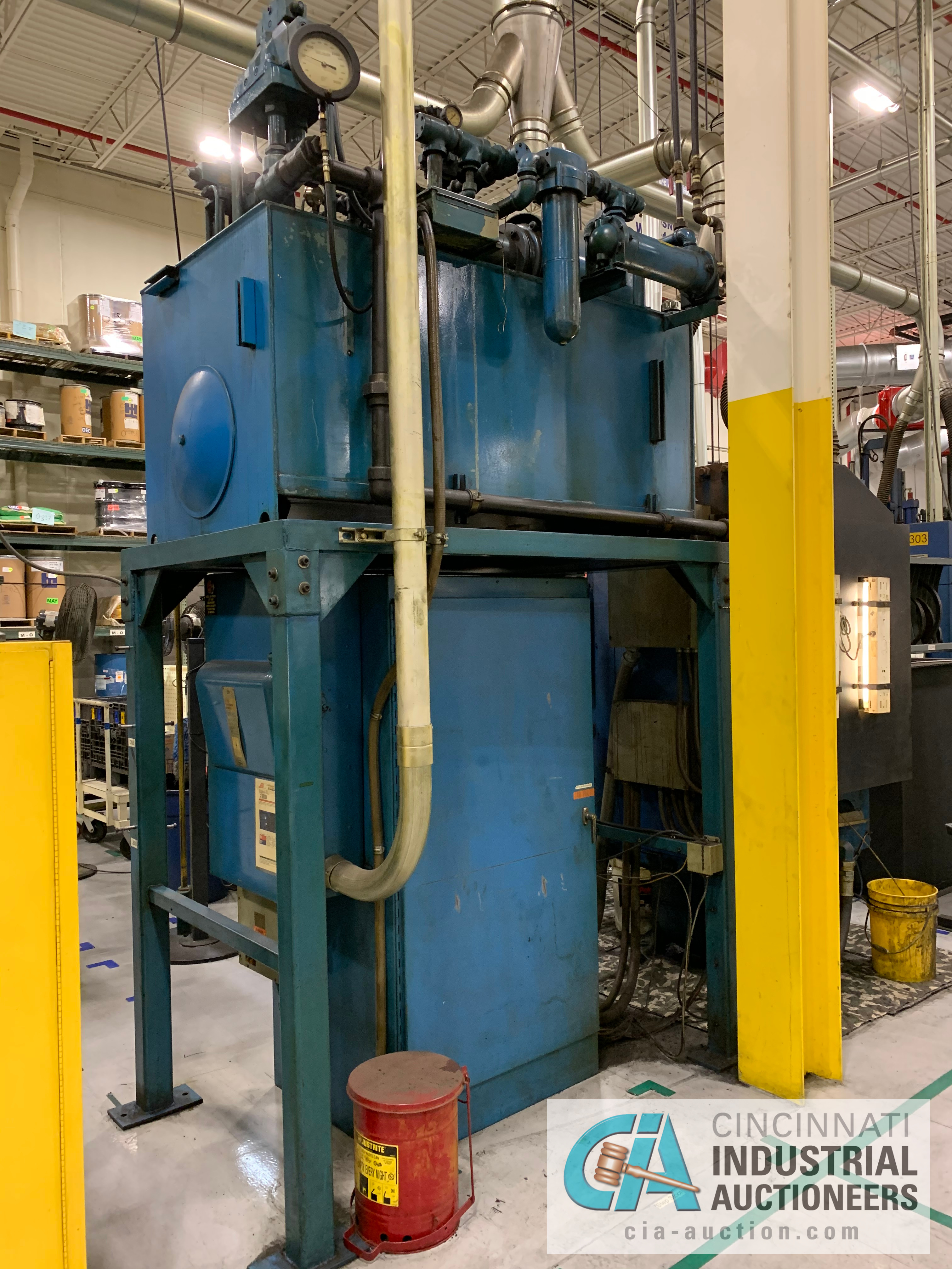 """32"""" 5-PLATTEN HEATED PRESS **RIGGING FEE DUE TO SHOEMAKER $2,250.00** - Image 7 of 7"""