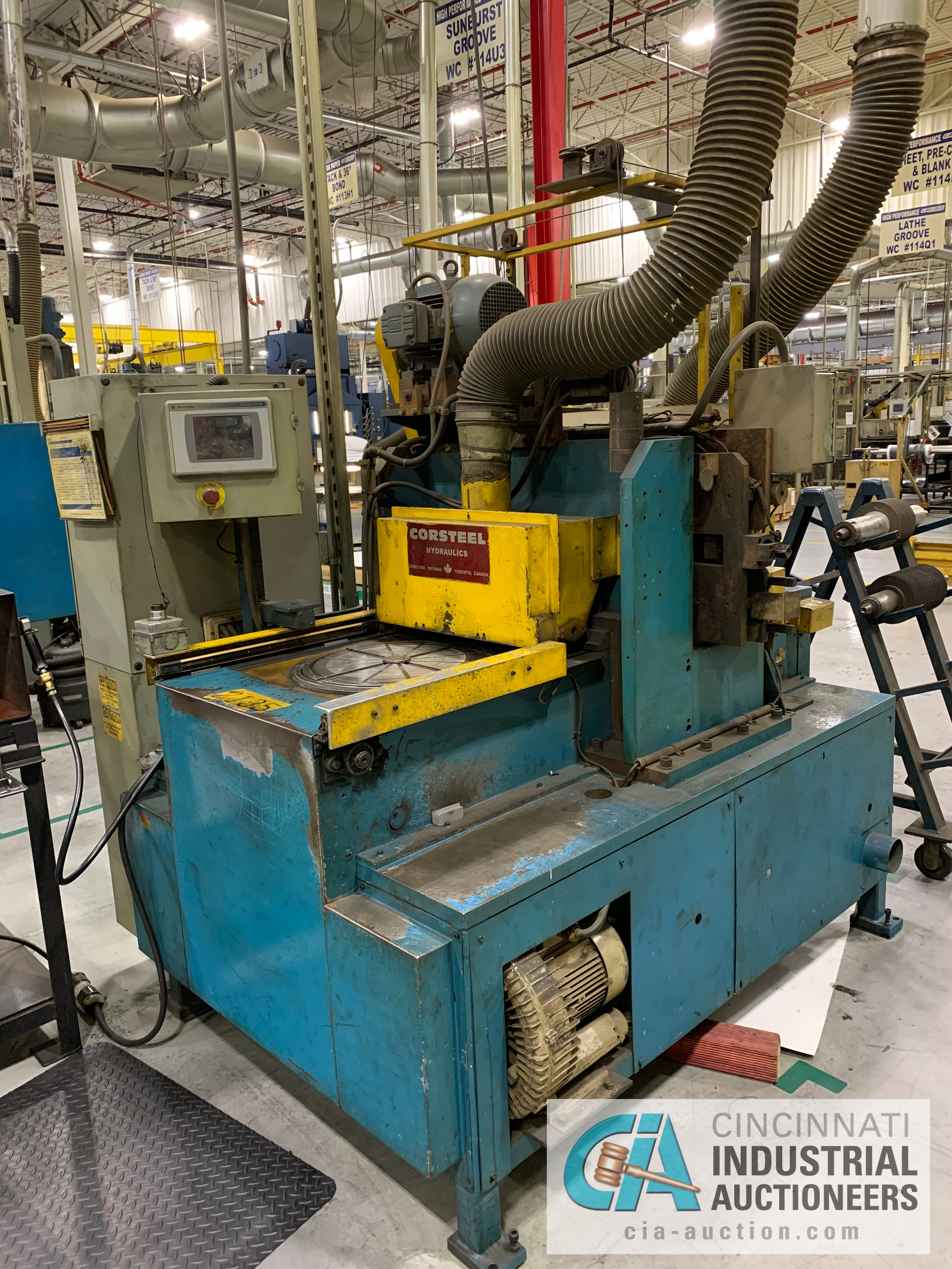 CORSTEEL MANUAL GROOVER; 14 HP **RIGGING FEE DUE TO SHOEMAKER $500.00** - Image 2 of 7