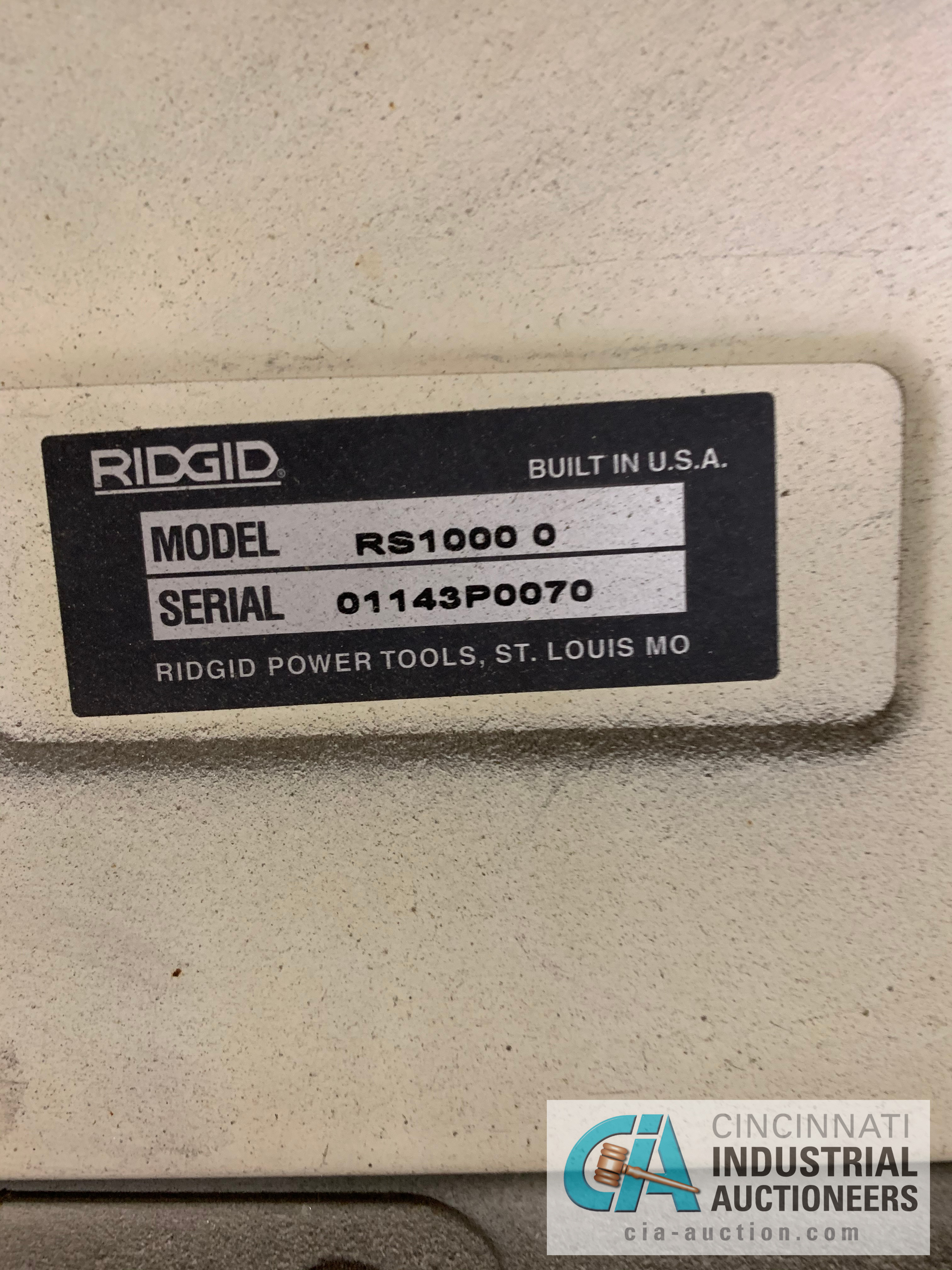 RIGID RS1000 RADIAL ARM SAW **RIGGING FEE DUE TO SHOEMAKER $50.00** - Image 2 of 3