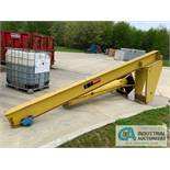 1 TON DAYTON MOD: 4ZX05 JIB CRANE (NO HOIST) **RIGGING FEE DUE TO SHOEMAKER $200.00**