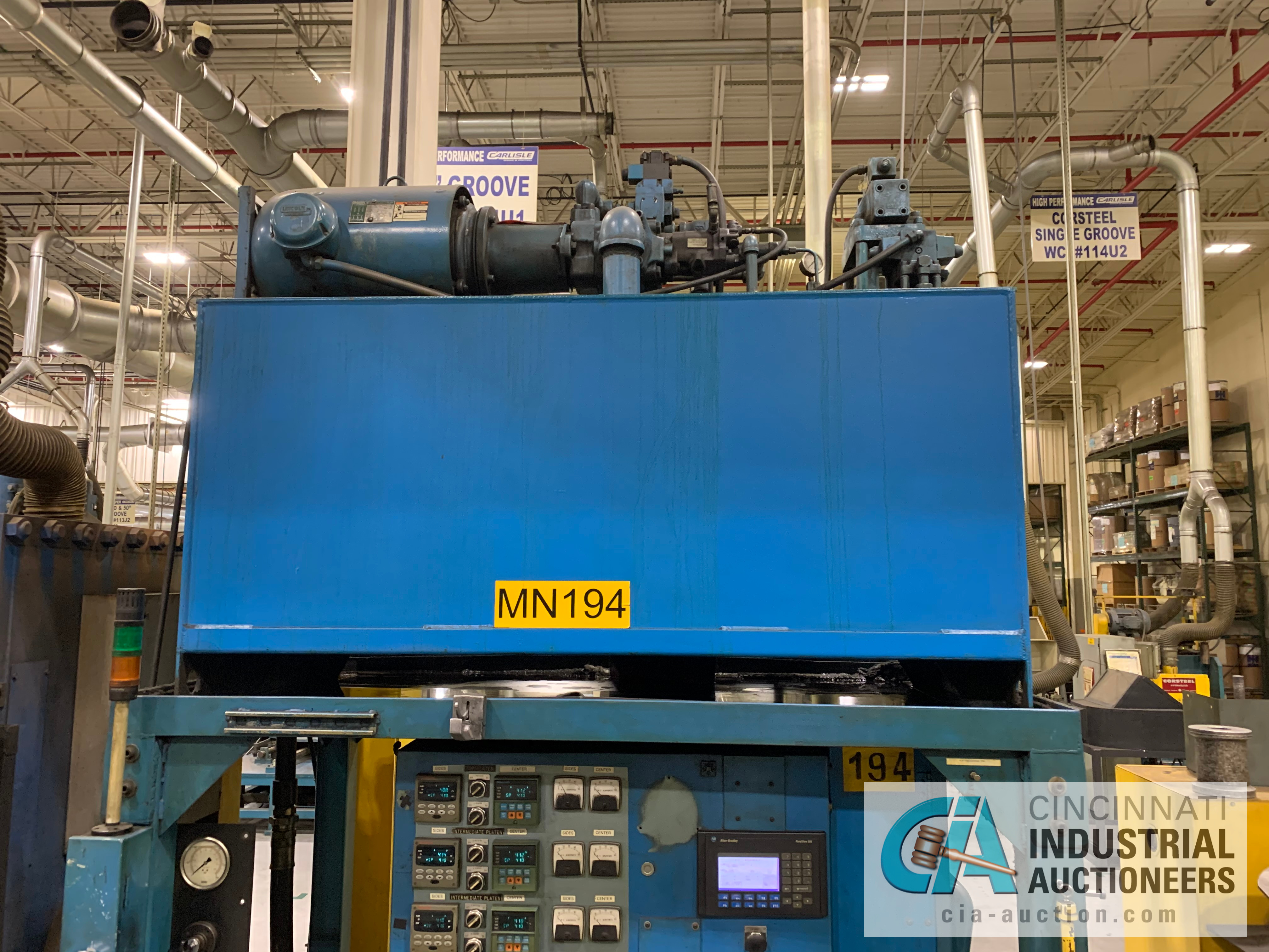 """32"""" 5-PLATTEN HEATED PRESS **RIGGING FEE DUE TO SHOEMAKER $2,250.00** - Image 4 of 7"""