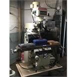 """EUMEGA Milling Machine, mod: MD V3, c/w: HEIDENHAIN X-Y Axis Control & 10"""" x 50"""" Table"""