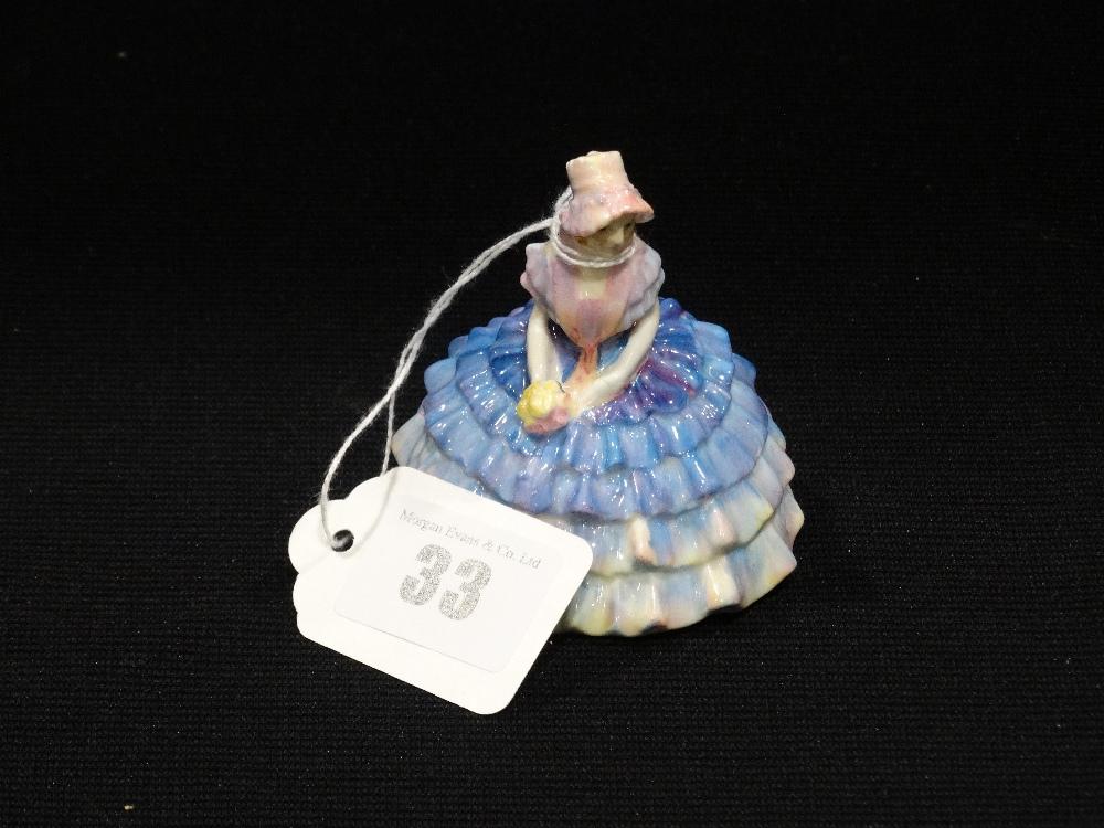 "Lot 33 - A Royal Doulton Miniature Figure ""Chloe"" M10"