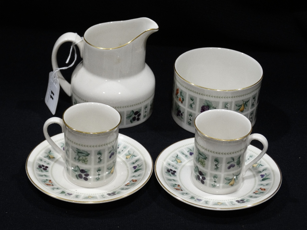 Lot 11 - A Quantity Of Royal Doulton Tapestry Pattern Coffee Ware