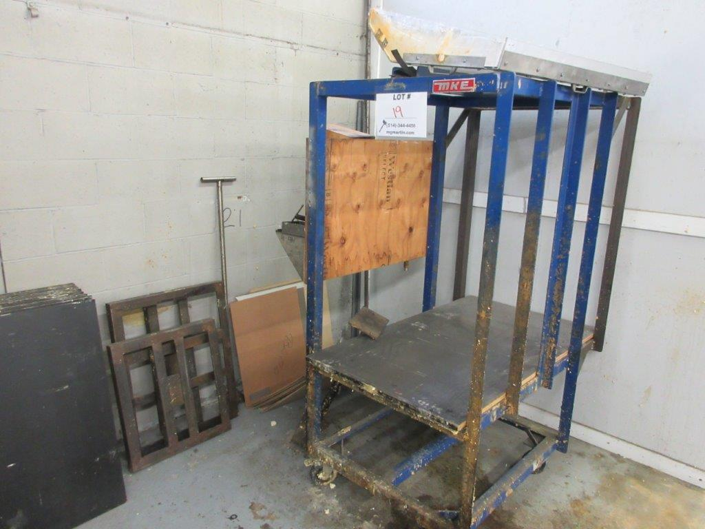 Polyurethane distributing system w/t cabinet + gun, timer, rack, mixer, cleaning system, air & water - Image 8 of 8