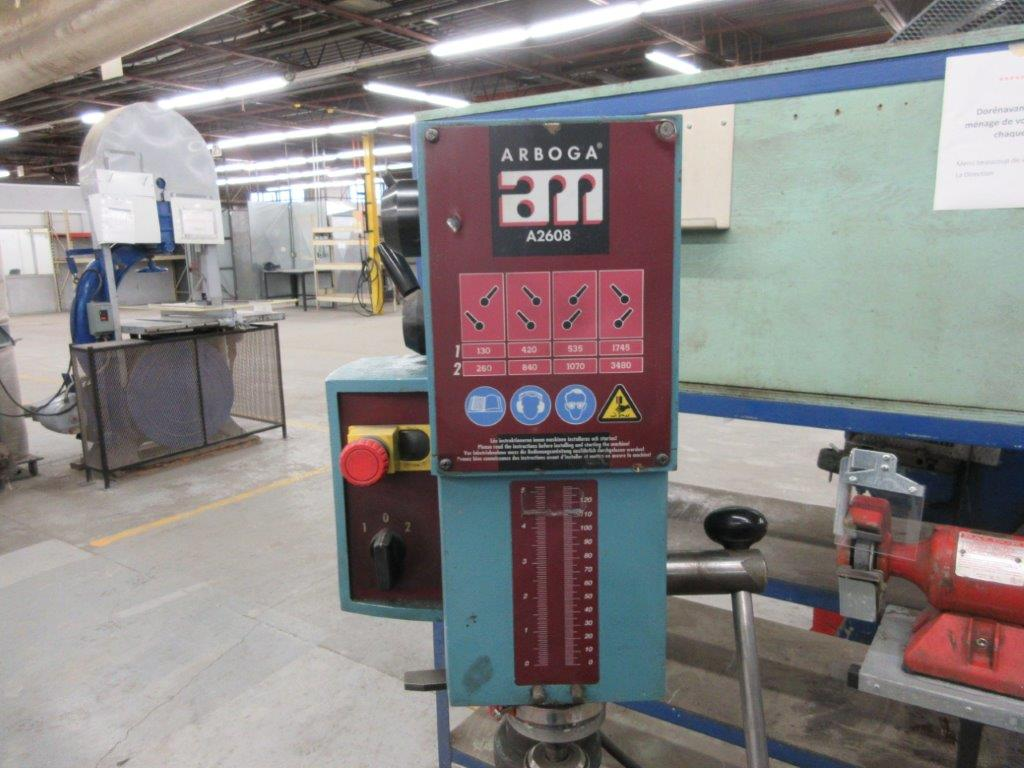 ARBOGA Drill Press Mod: A2608 w/t vise - Image 2 of 3