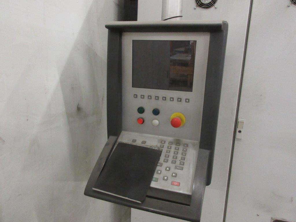 STRIPPIT LVD press brake (1999) type PPEB 135/42 max cap: 1350, 575 volts, 60 hz , 135 Ton, 14ft, - Image 10 of 11
