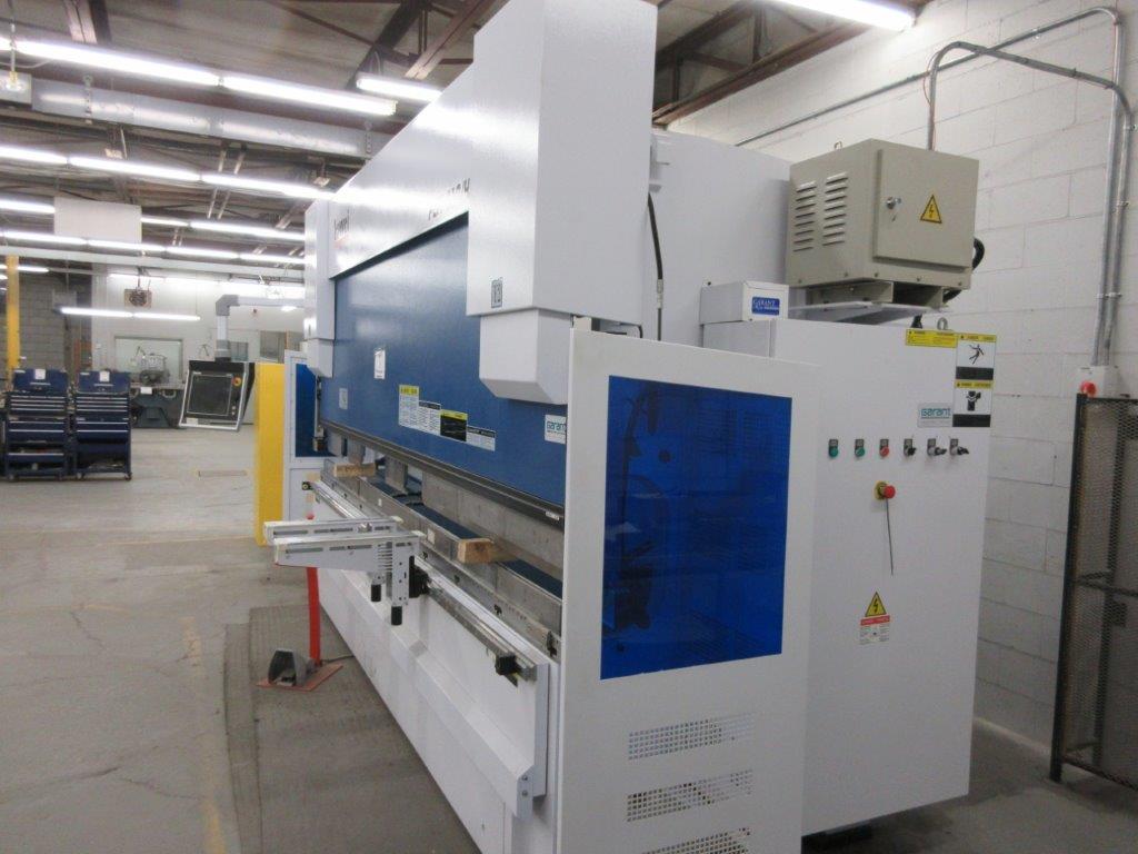 YAWEI Press brake 2019, 110 tons, Mod: PBH-1104100, controller Delem DA-66T, 14 ft, 12ft folding, - Image 7 of 11