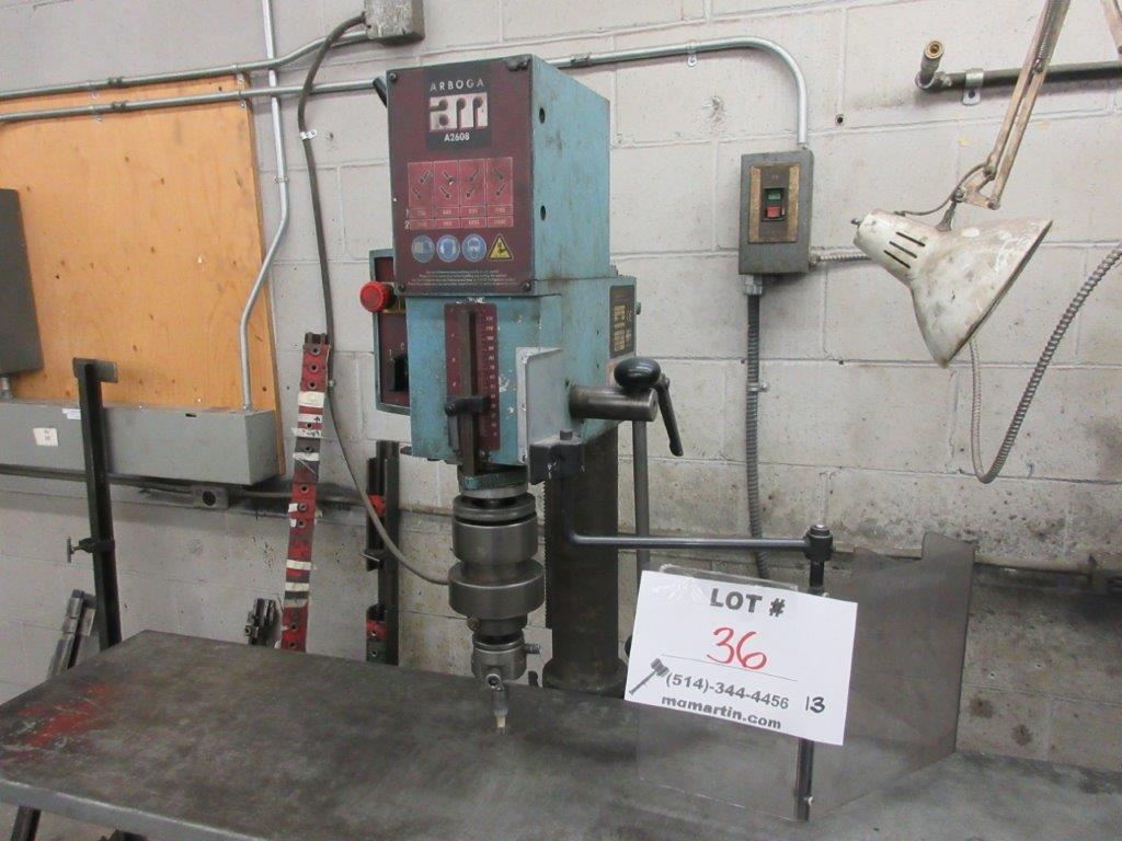 ARBOGA Drill Press Mod: A2608 - Image 2 of 3