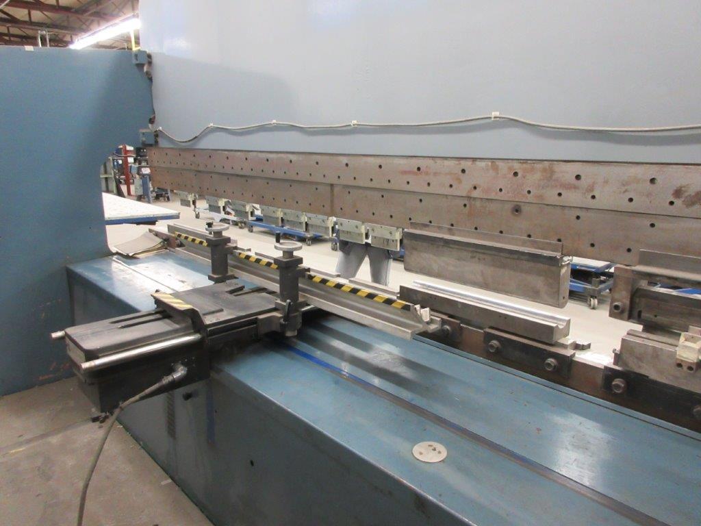 PROMECAM Press brake w/t DSP Laser-Rx Cap:150 Ton Imperial, 12ft, Mod RG 154, Laser, 6ft back guage, - Image 11 of 11