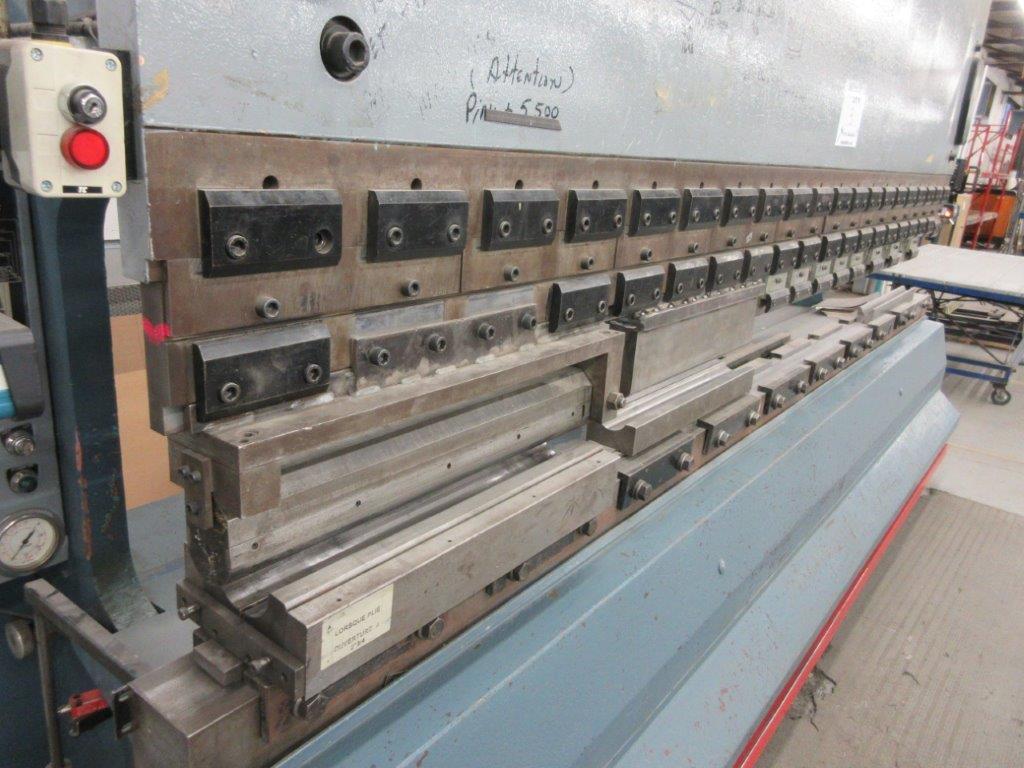 PROMECAM Press brake w/t DSP Laser-Rx Cap:150 Ton Imperial, 12ft, Mod RG 154, Laser, 6ft back guage, - Image 4 of 11