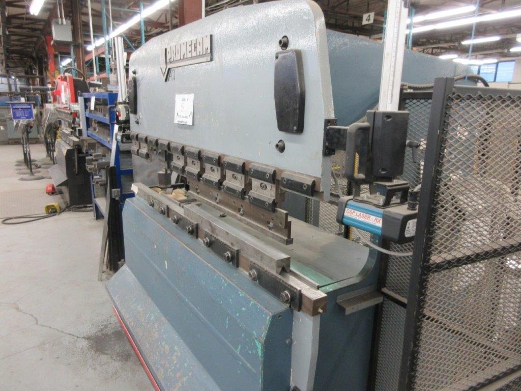 PROMECAM Press brake Cap: 50 Ton, Mod: RG50-20, 6ft, laser - Image 5 of 6