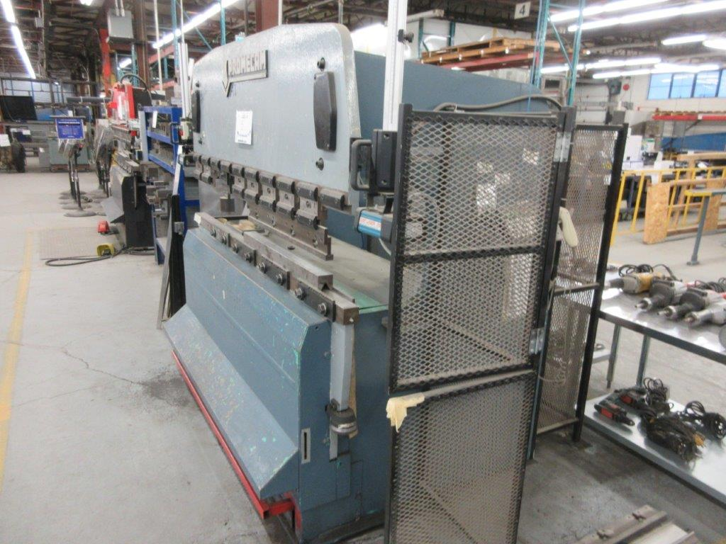 PROMECAM Press brake Cap: 50 Ton, Mod: RG50-20, 6ft, laser - Image 6 of 6