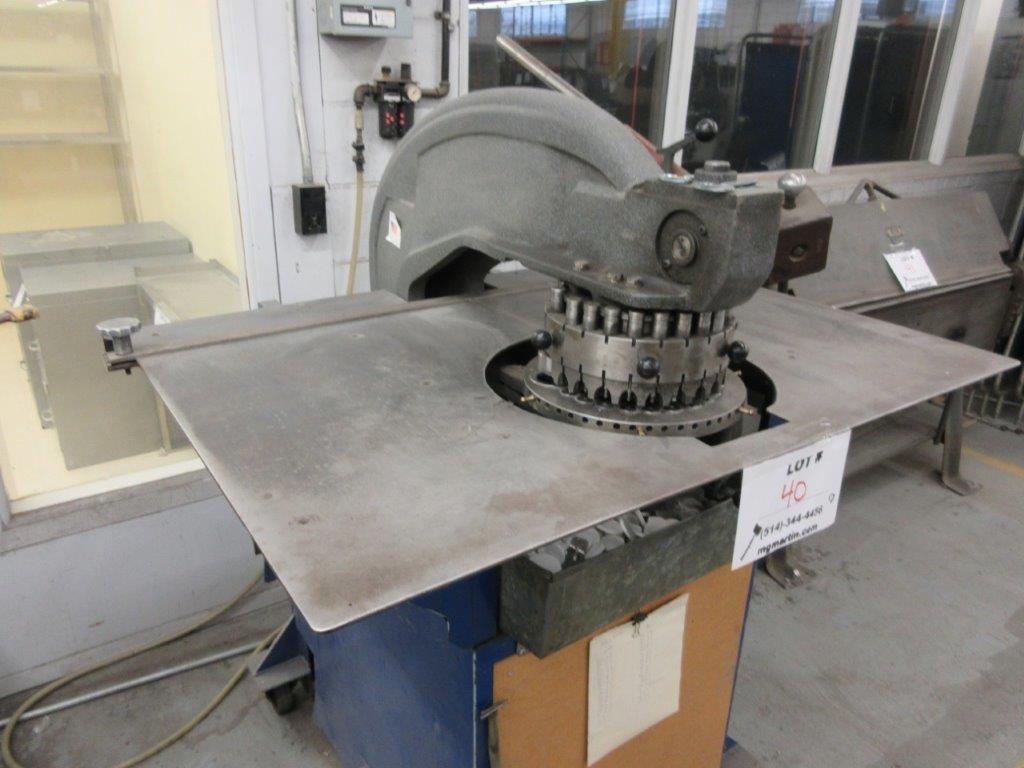 ROTEX Punch press Cap: 8 Ton, Mod: 3725 - Image 3 of 3