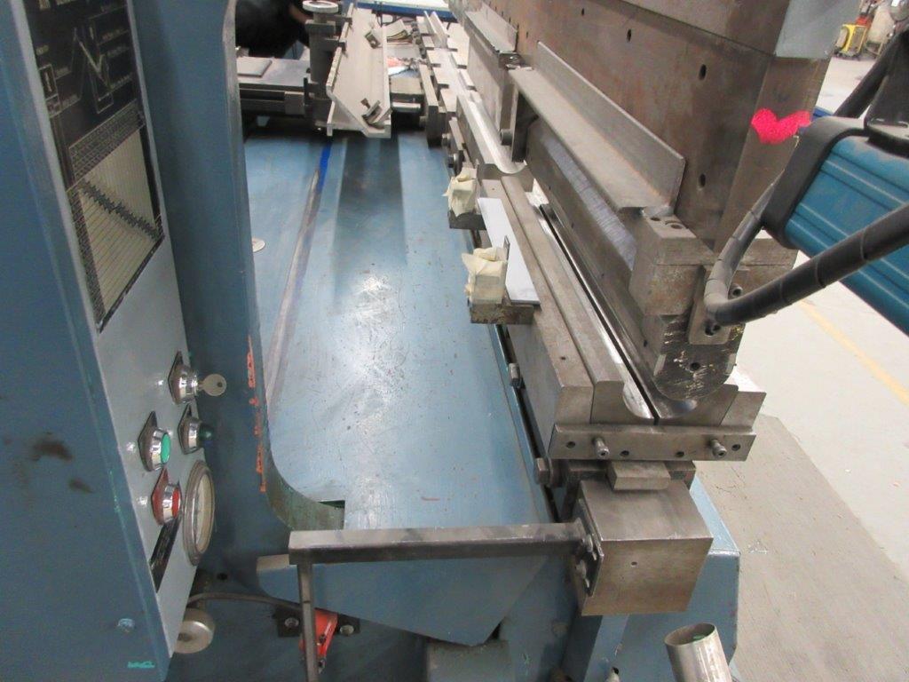 PROMECAM Press brake w/t DSP Laser-Rx Cap:150 Ton Imperial, 12ft, Mod RG 154, Laser, 6ft back guage, - Image 7 of 11