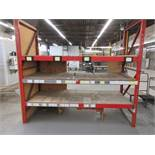 Section industrial racking 103w x 42d x 93h