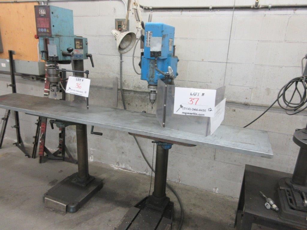 ARBOGA MASKINER Drill press 1/4 hp ,type G2508, 575 Volts, 1.1 hp - Image 3 of 3