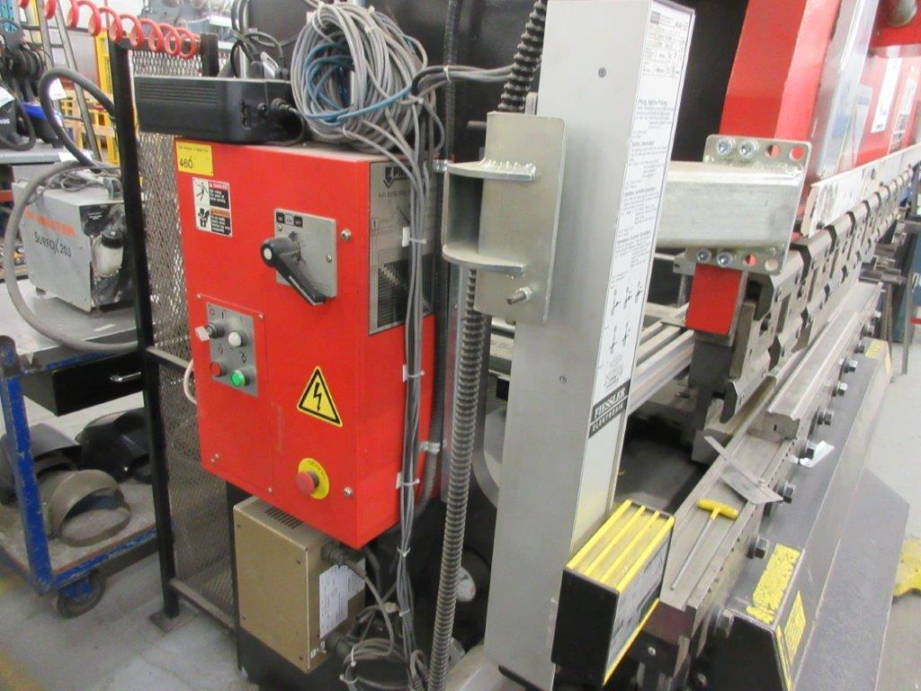 AMADA CNC Hydraulic brake press (1998) Mod: RG 50, Cap: 50 Ton. 6ft back guage, electronic control - Image 6 of 7