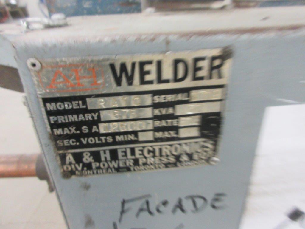 AH spot welder Mod: RATC 575 V, 30 KVA - Image 2 of 4