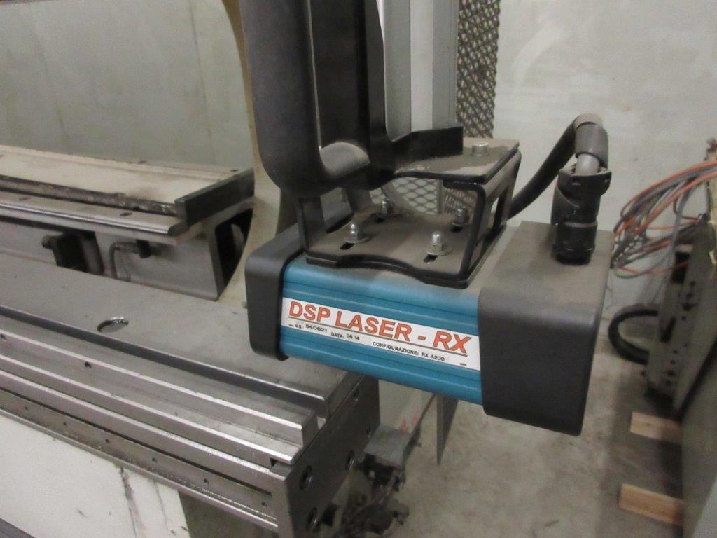 STRIPPIT LVD press brake (1999) type PPEB 135/42 max cap: 1350, 575 volts, 60 hz , 135 Ton, 14ft, - Image 6 of 11