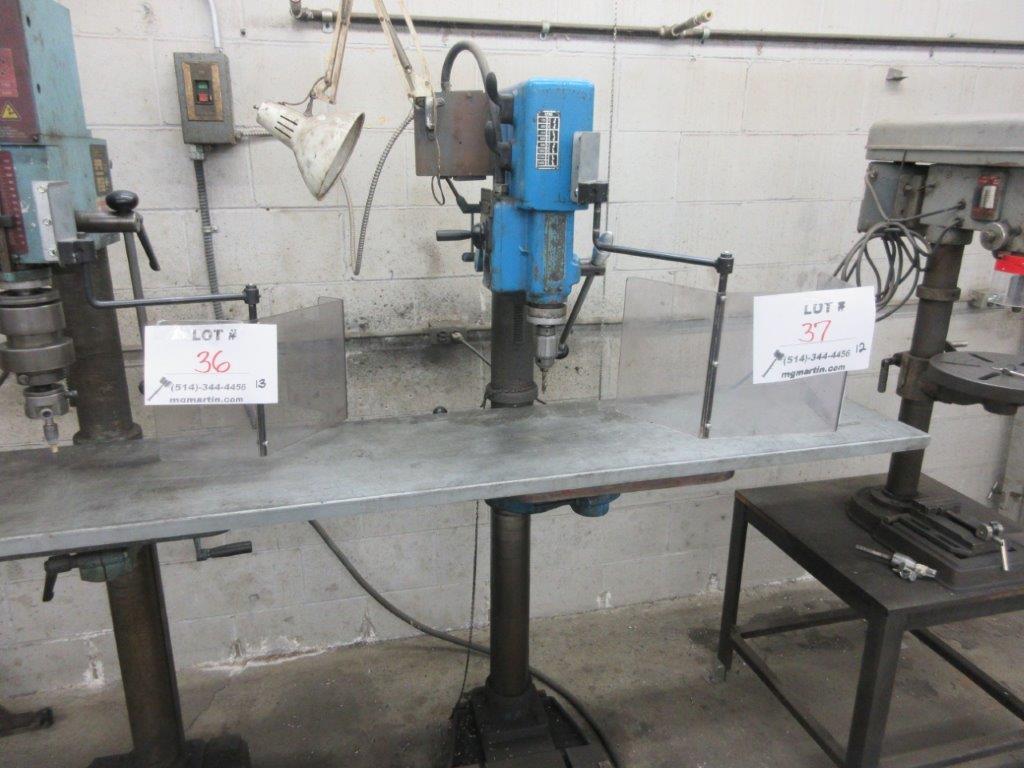 ARBOGA MASKINER Drill press 1/4 hp ,type G2508, 575 Volts, 1.1 hp