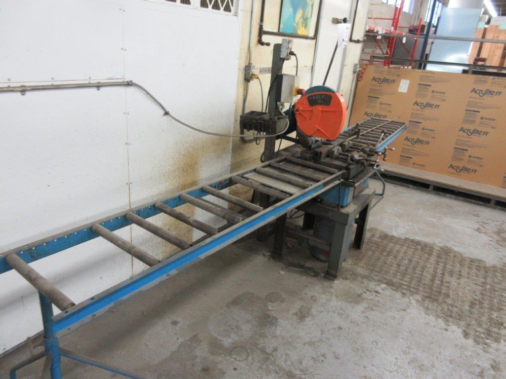 HABERLE Metal saw c/w conveyor - Image 3 of 3