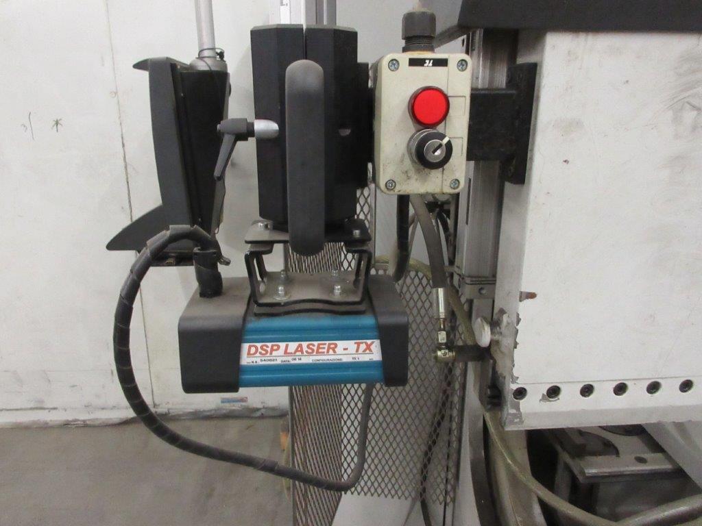 STRIPPIT LVD press brake (1999) type PPEB 135/42 max cap: 1350, 575 volts, 60 hz , 135 Ton, 14ft, - Image 3 of 11