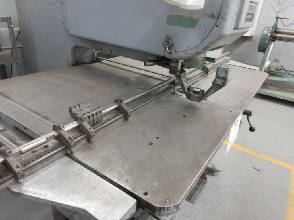 STRIPPIT HOUDAILLE Hole punch & press Mod:85860 , 550 volts, 30/30 - Image 9 of 9