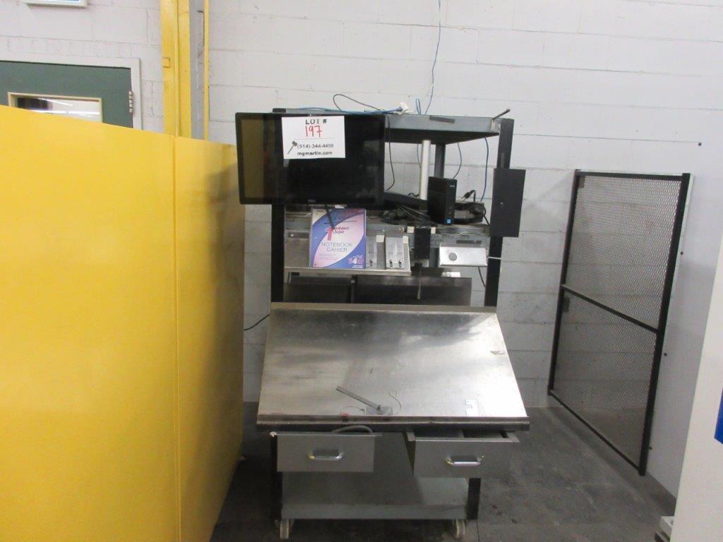 YAWEI Press brake 2019, 110 tons, Mod: PBH-1104100, controller Delem DA-66T, 14 ft, 12ft folding, - Image 5 of 11