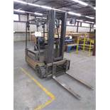 STILL electric forklift, 3000 lbs, 3 sections, side shift, NO CHARGER